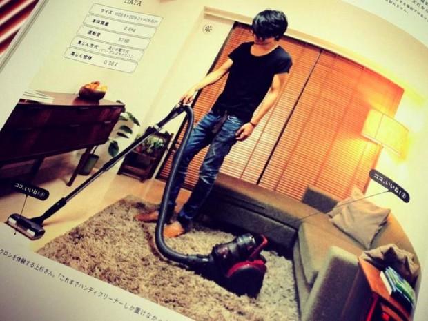 Hanako FOR MEN「男のインテリア」(マガジンハウス)にてYADOKARI上杉の自宅が紹介されされました