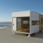 太陽エネルギーを効率活用したスモールハウス「Chamfer Home」