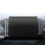 自然エネルギーを利用した次世代モバイルホテル「Drop Eco Hotel」