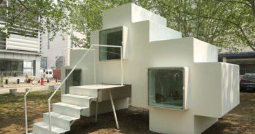 自由に積み重ねられるブロックみたいな楽しい家「Micro House」