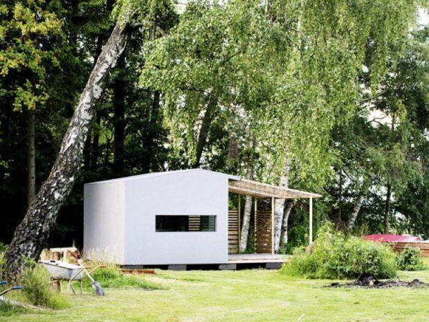制作時間48時間!DIY組立式住宅「Mini House」 : ミニマルライフ/スモールハウスなど今までにない新しい