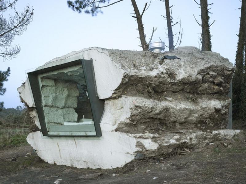 白トリュフを模したスモールハウス「THE TRUFFLE HOUSE」