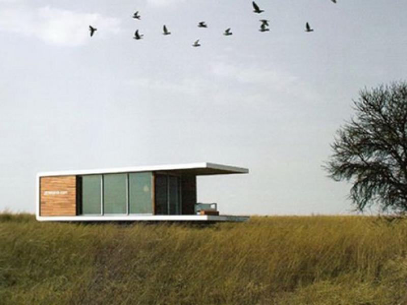 アフリカの大地に調和するモバイルハウス「ZENKAYA HOUSE」