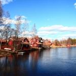 第1回:スウェーデンの伝統的な赤い家 〜ひみつの屋根裏部屋を覗いて〜