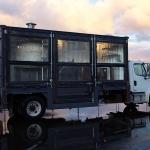 ピザ釜を積んだコンテナの移動販売車!「Del Popolo」