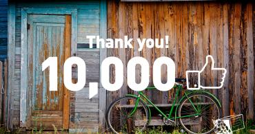 YADOKARI Facebookページのいいね!が「10,000」を突破しました!