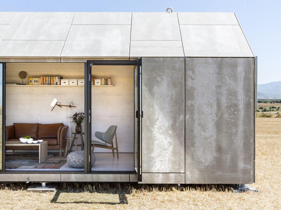 420万円で買える!切妻屋根のプレハブハウス「ÁPH80」