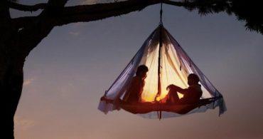 プライベートテントで愛を深めよう「Waldseilgarten」