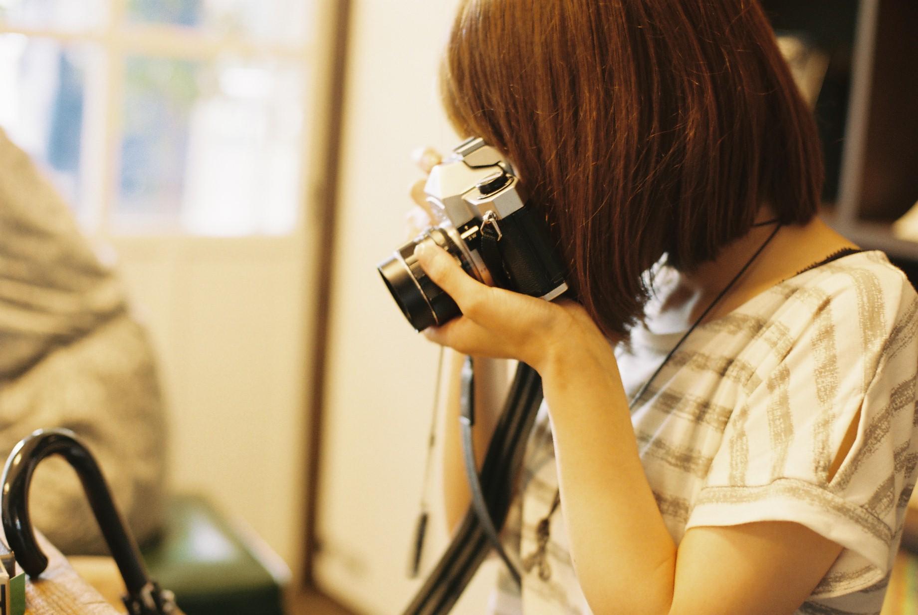 フィルムカメラで撮って、見る