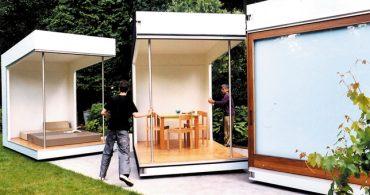部屋が取り外せる?!分離型のスモールハウス「Krill's Garden House」