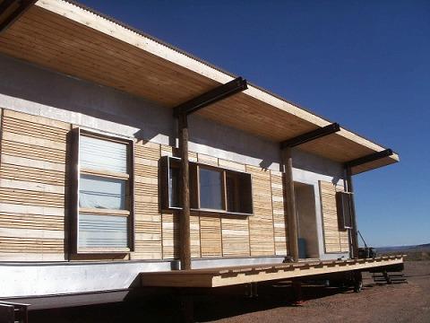 完成した住宅。
