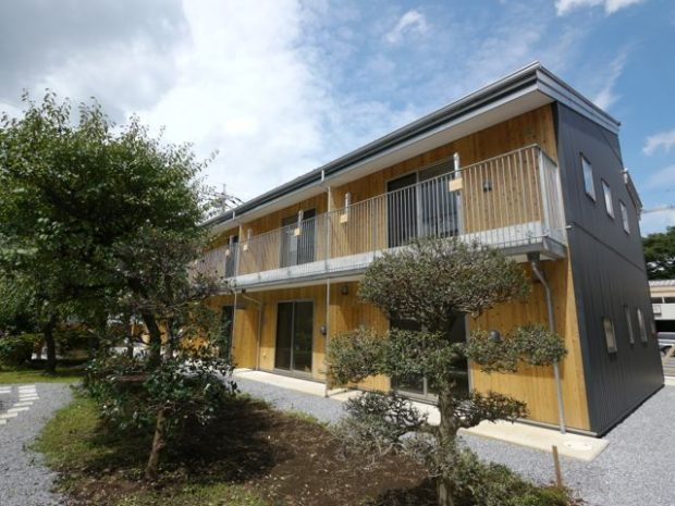 菜園・自然エネルギーつき賃貸住宅『モーラの家』