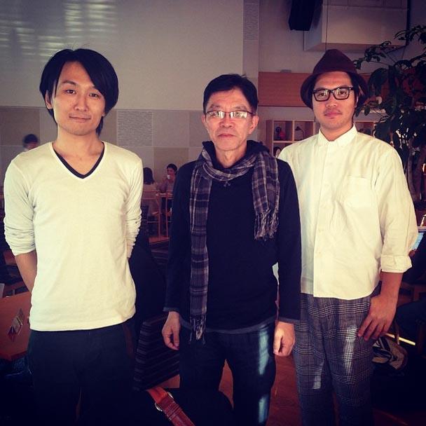 建築家 立田一幸氏とお話させて頂きました。