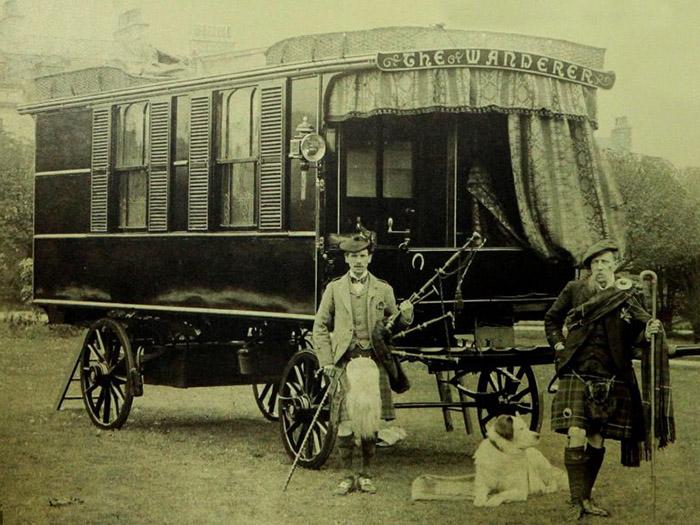 128年前に誕生した世界最古のモバイルハウス「Oldest Caravan」