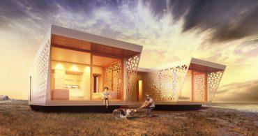 遠い未来を見据えた100%再生可能な家「Unboxed」