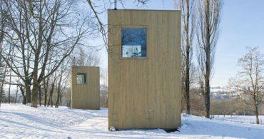 泊まると公園の環境整備に貢献!宿泊用パヴィリオン「Maisons 5.5m×5.5m」