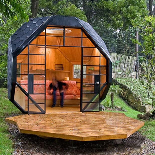 子供にインスピレーションを与え、成長を促す「Backyard playhouse」