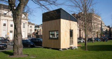 近未来住宅!? 3×3×3メートルのコンパクトで快適な生活「Cube」