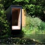 窓からの眺めを絵画のように切り取り、独り占めできる家「Forest Pond House」