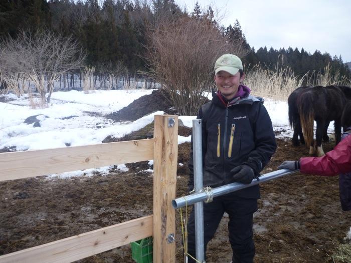 馬と人が共存共栄する社会への挑戦を遠野で始められた菊地さん。 前職は環境・CSRコンサルタント。