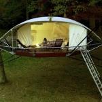 育樹と建築の専門家が考えた!エコロジカルなツリーハウス「Dom'Up」