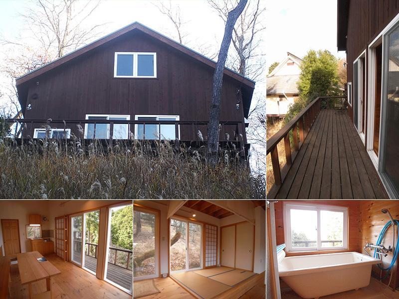 温泉に浸かりながら、四季折々の富士山絶景を楽しめる家 890万円