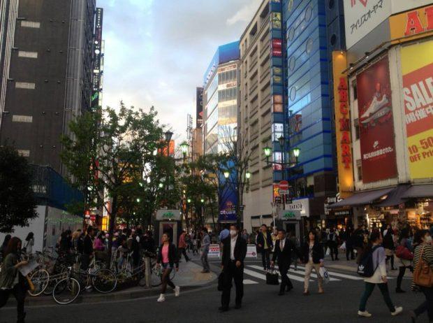 3年半お世話になった街、東京