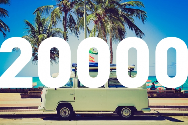 YADOKARI Facebookページのいいね!が「20,000」を突破しました!