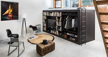 部屋が狭くても場所がなくてももう大丈夫?これさえあれば1人の空間を作れる「Living Cube」