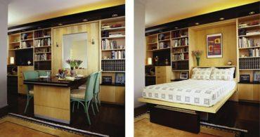 多機能家具で自由自在に!空間トリック「Teblebed」