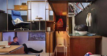 究極のミニマリストハウス!17㎡の倉庫を住まいにリノベしたシアトルの隠れ家「Pico Dwelling」