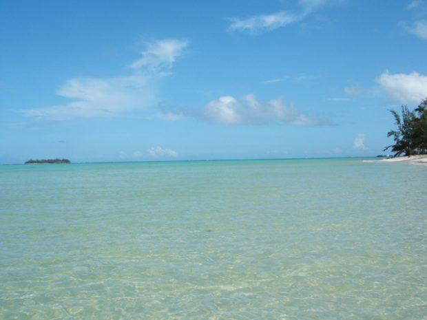 マニャガハ島の海