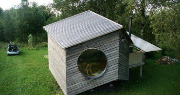ひし形だけで構成されたエストニアのサマーハウス「Noa」