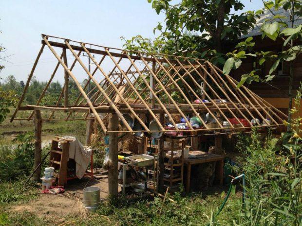 タイでのパーマカルチャー農業ボランティア