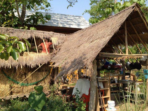 ハイライトかもしれなかった作業、屋根の解体