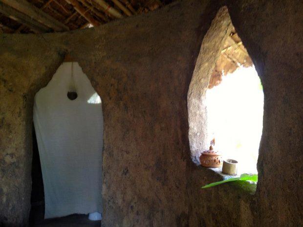 DIYハウスの内部
