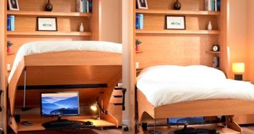 寝坊すけさんでも大丈夫!たった5秒でベッドに早変わりする机「StudyBed」