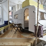 ベルリンの街の真ん中にあるキャンプ場のようなホテル「Huetten palast」