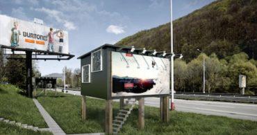 家なき人のための、快適な住まい 「Billboard Houses For Homeless」