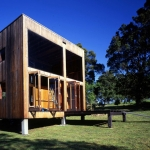 自然に寄りそって暮らすための、木の箱「The Box House」