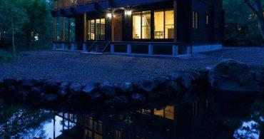 軽井沢で二地域居住!ログハウスの内外装デザインを担当させていただきました。