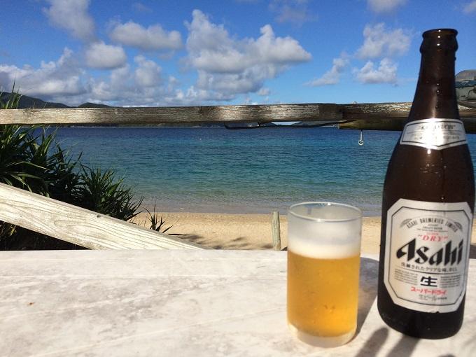 泳いだあとのビールはこれこそが至福!という味がします。