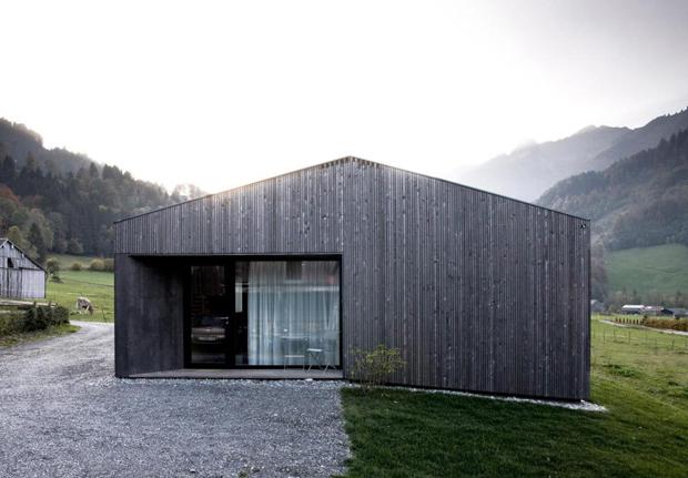 アルプスの大自然の中で暮らすカタチ「HOUSE FOR GUDRUN BY SVEN MATT」