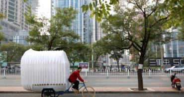 どんな人にも、どんな場所にも住まいを。三輪車の家「Tricycle House」