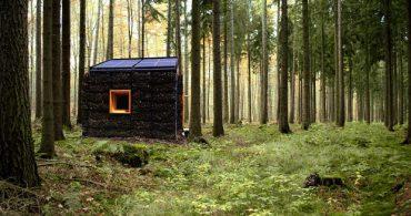 呼吸する外壁をもつエコなスモールハウス「LEGOLOGICA」