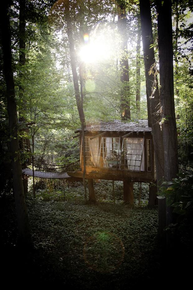 あなたはあなたの想像よりも、器用でなんでもつくれます。「Tree house By Peter Bahouth」