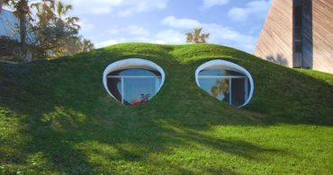 ビーチサイドにある砂丘の家「THE DUNE HOUSE」