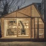 自宅の庭にも隠れ家を、作家のための物語の家「Writer's Shed by Weston Surman & Deane」