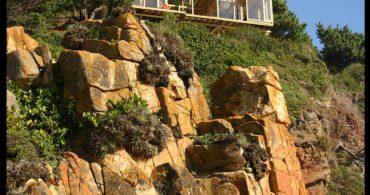 退屈しない刺激的な生活、崖っぷちの家「THE CLIFFTOP HOUSE IN BUCHUPUREO」