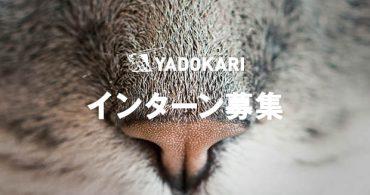 YADOKARI編集インターン募集!